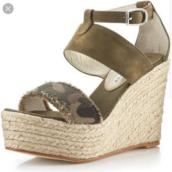 c52377a52f bettye muller Shoes | Camo Wedges | Poshmark